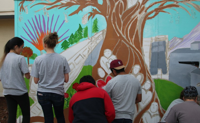 Gresham Students Will Paint a Mural to Mark The Site of Racially-Motivated Killing