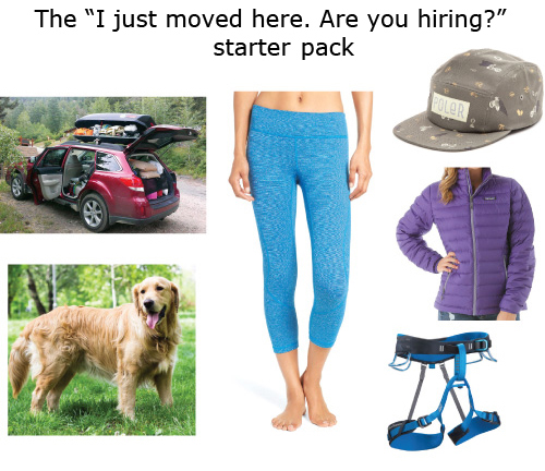 Here's A Starter Pack for Every Classic Portlander Who Frequents Coffee Shops