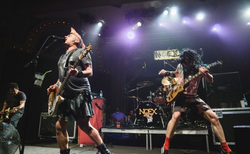At the Crystal Ballroom, NOFX Prove Punk Isn't Dead—Just Older and Fatter