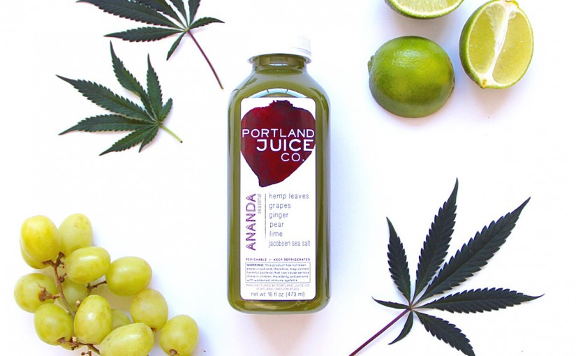 A Portland Company Has Made What Appears To Be The World's First Cannabis-Leaf Juice