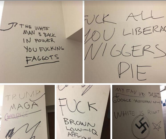 Reed College Targeted by Racist, Homophobic, Anti-Semitic Graffiti
