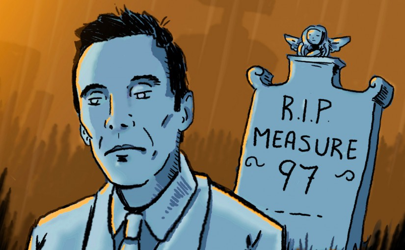 Six Questions for Ben Unger About Why Measure 97 Went in the Toilet