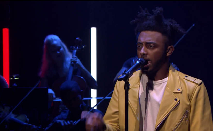 "Watch Aminé Perform ""Caroline"" on ""The Tonight Show"""