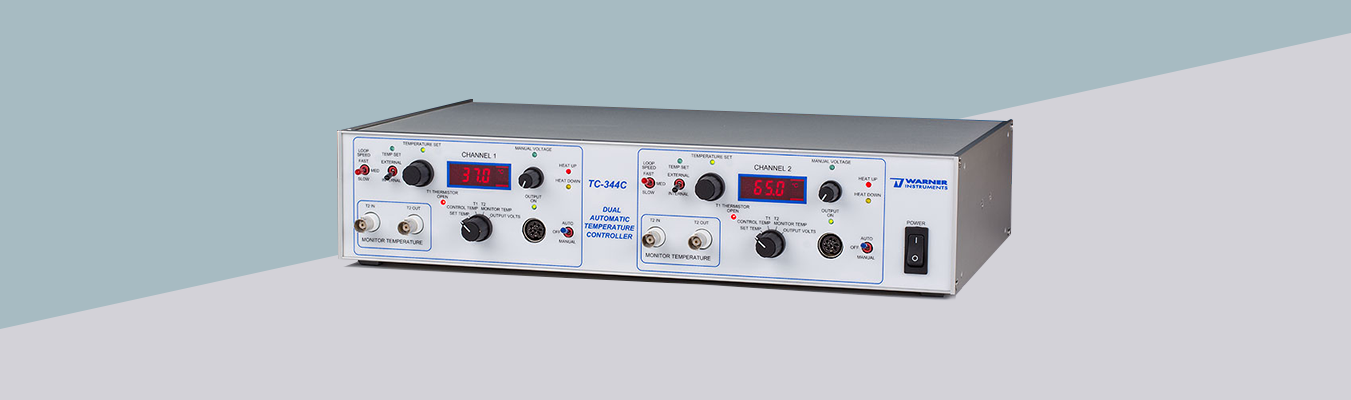 Dual Channel Temperature Controller (TC-344C)