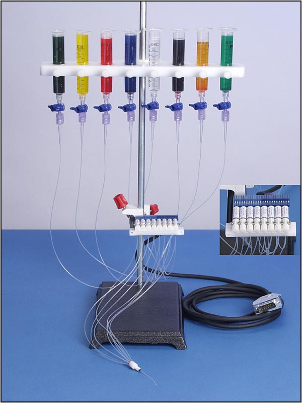 Eight Channel Perfusion Valve Control System (VC-8)