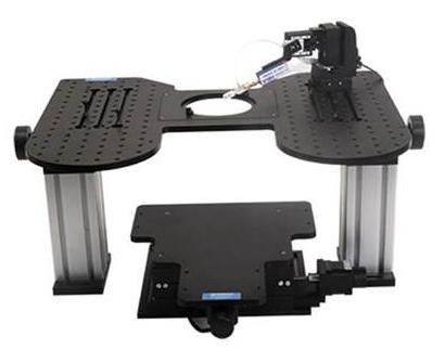 Hybrid Stage for Microscopy