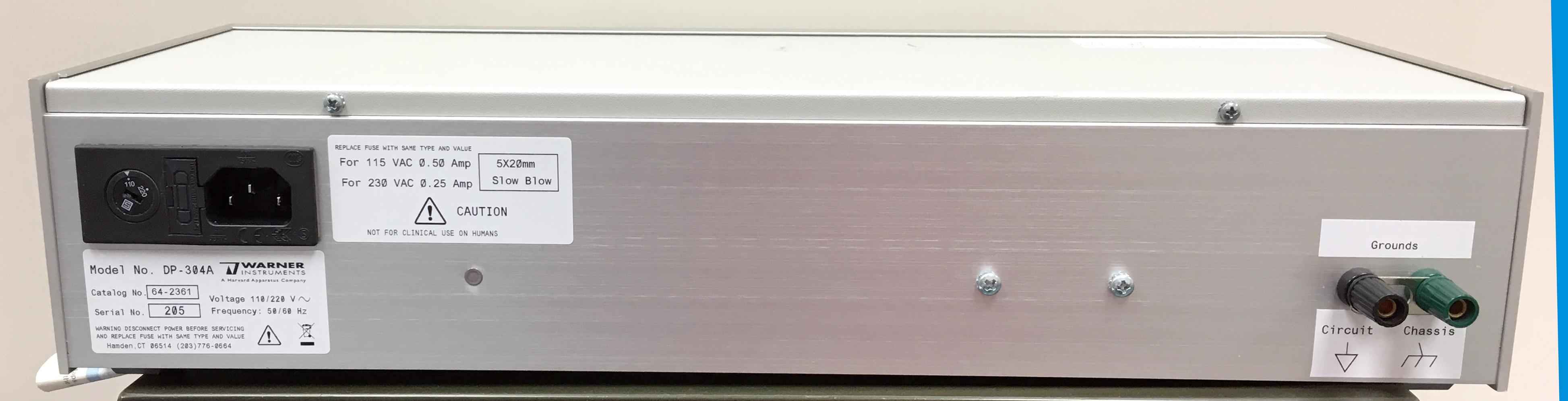 Differential Amplifier (DP-304A)