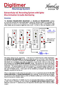 NeuroLog Application Notes: Amplification Modes