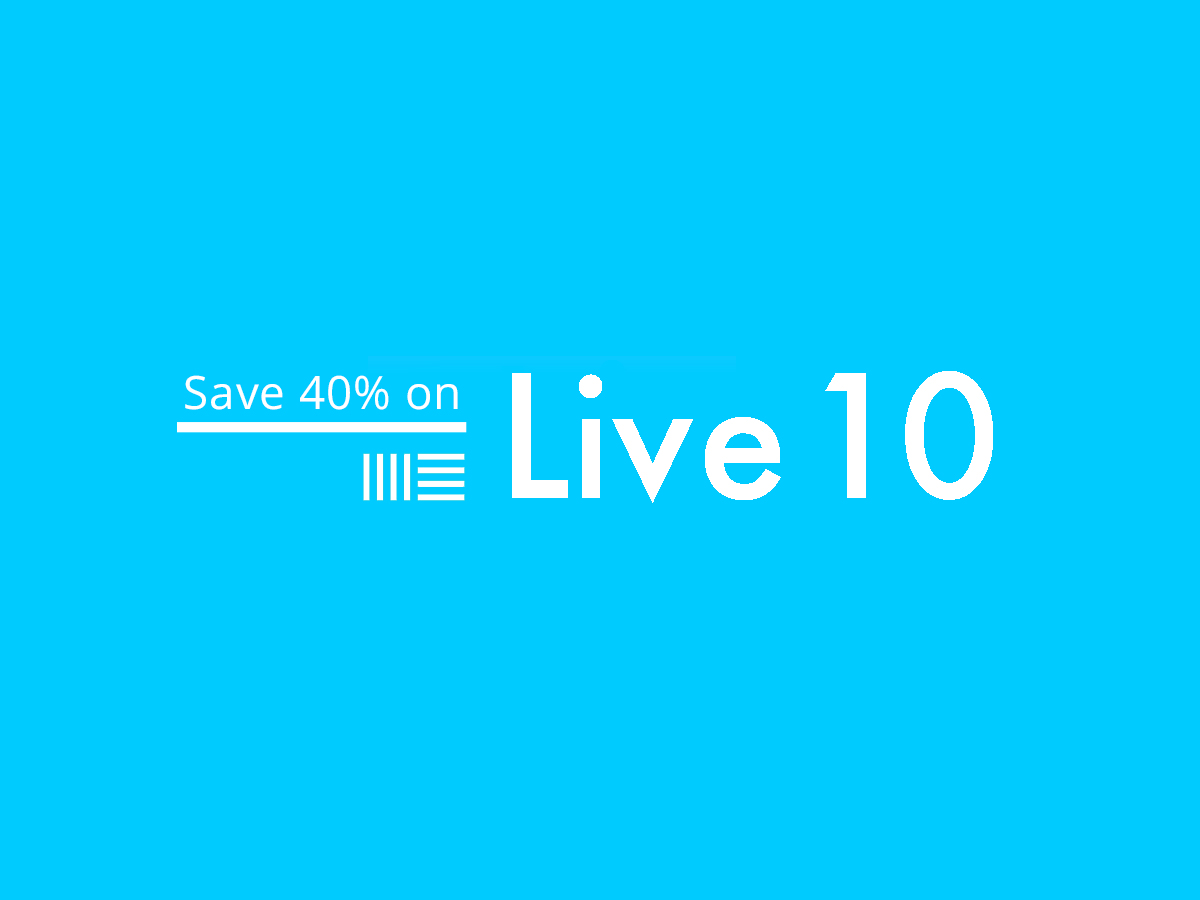 How to Get a 40% Off Ableton Live Discount! - Warp Academy