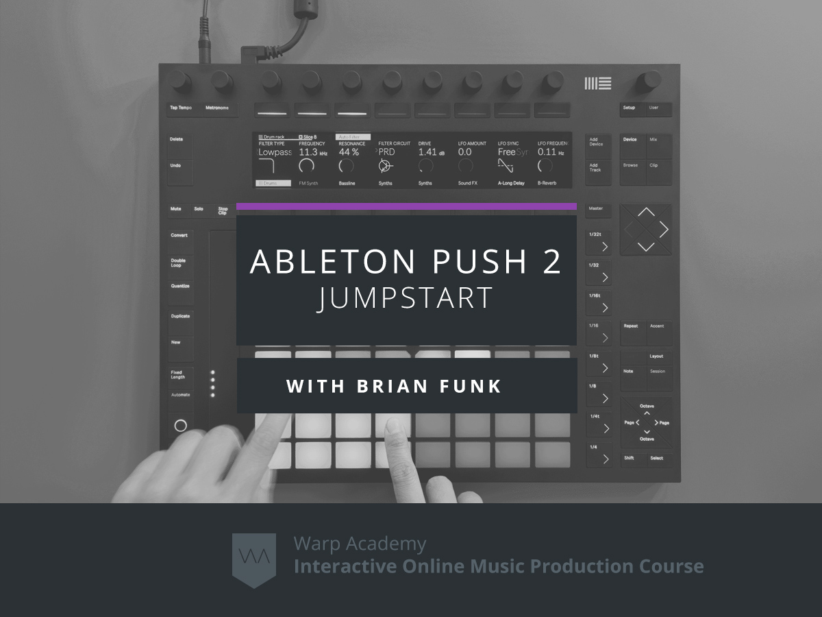 ableton push 2 jumpstart