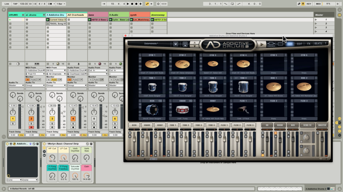 Addictive Drums 2 - United Heavy: A Drum Kit Built for the