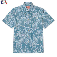Pattern of Paradise Print Shirt
