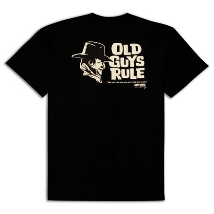 Talk Low T-Shirt By Old Guys Rule