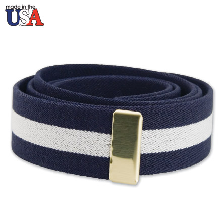 Cotton Stretch Belt with Brass Tip Only