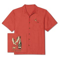 Fishtails Embroidered Shirt