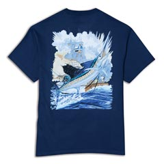 Sailfish Boat Tee by Guy Harvey