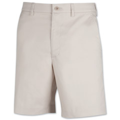 Galapagos Plain Front Stretch Shorts by Sportif