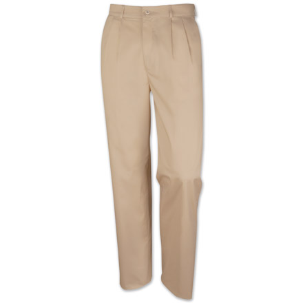 Calcutta Pleated Tropical Stretch Chinos