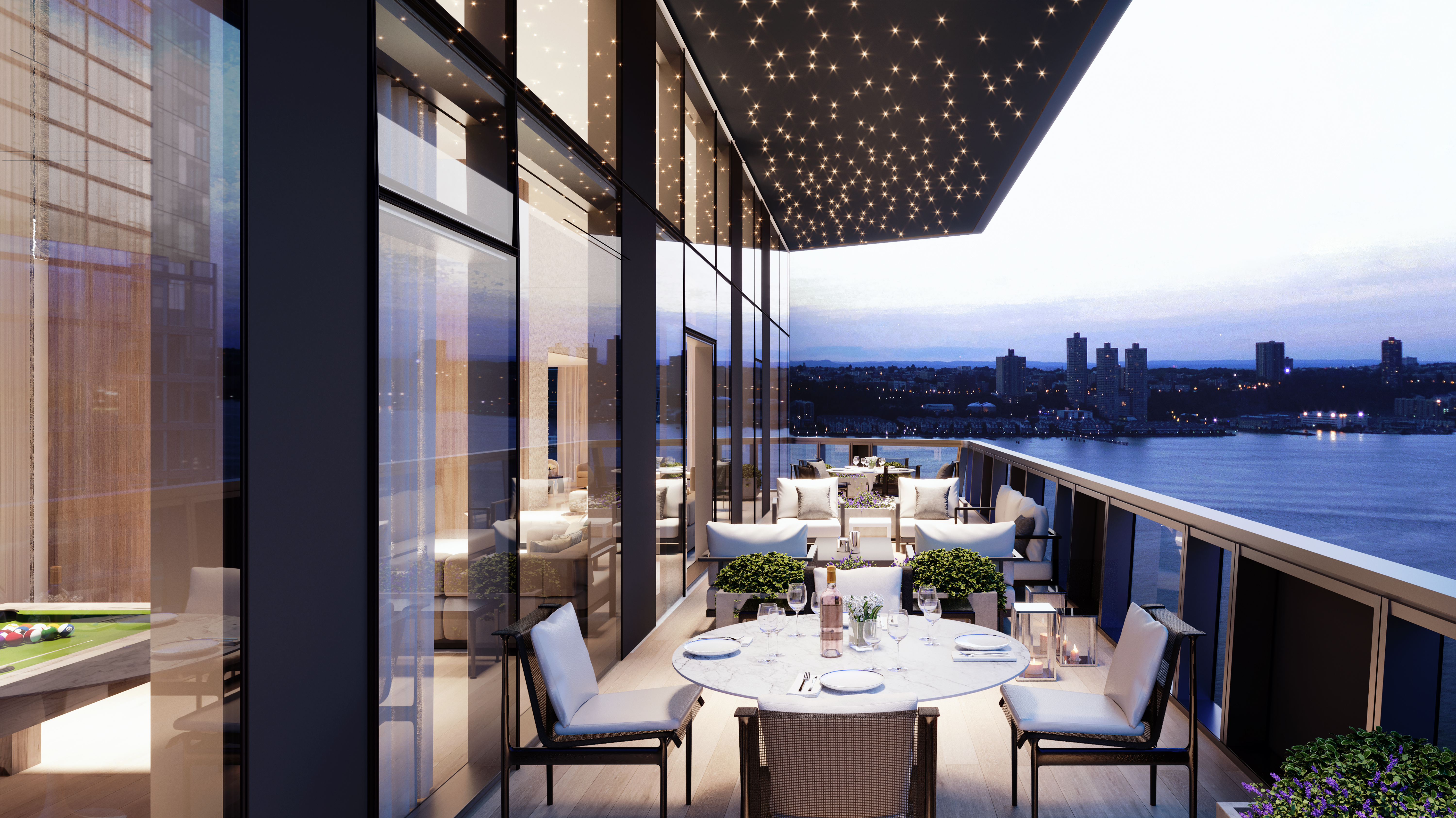 Modern Luxury Condos For Sale In New York City Waterline