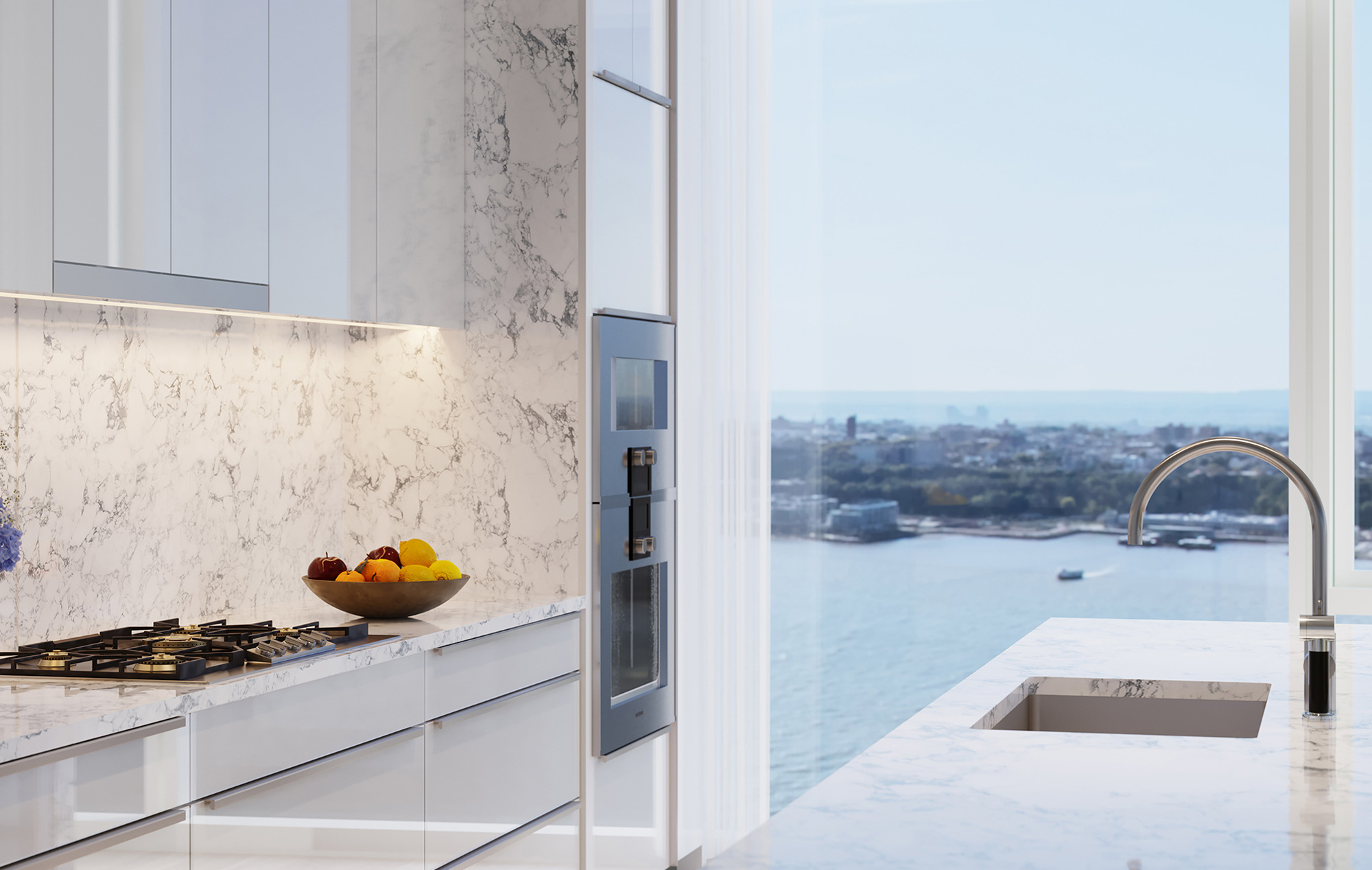 Luxury NYC Condo Kitchen