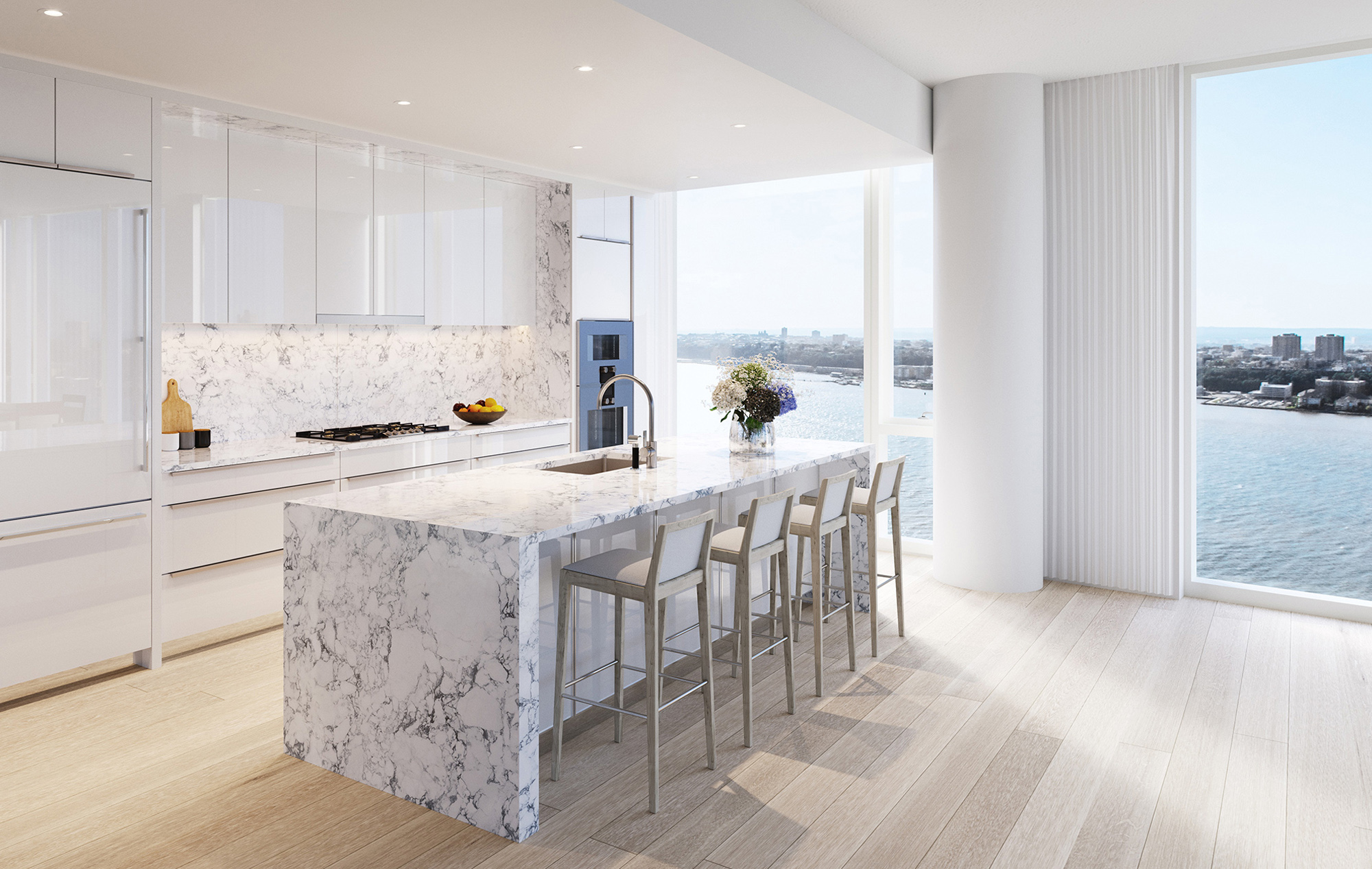 Luxury Condominiums for Sale in NYC - Waterline Square