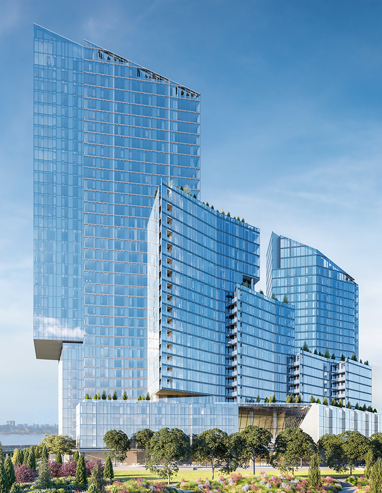 Rendering of Two Waterline Square Condo Tower
