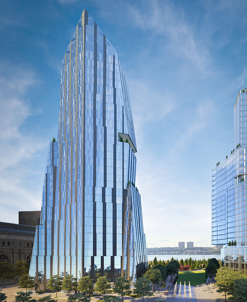Rendering of the Three Waterline Square Condos Tower