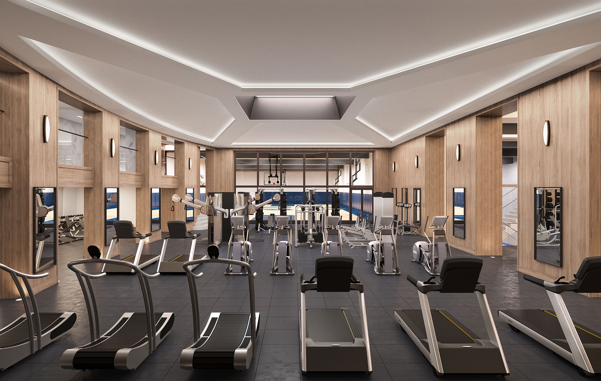 Residences with Fitness Center in Manhattan