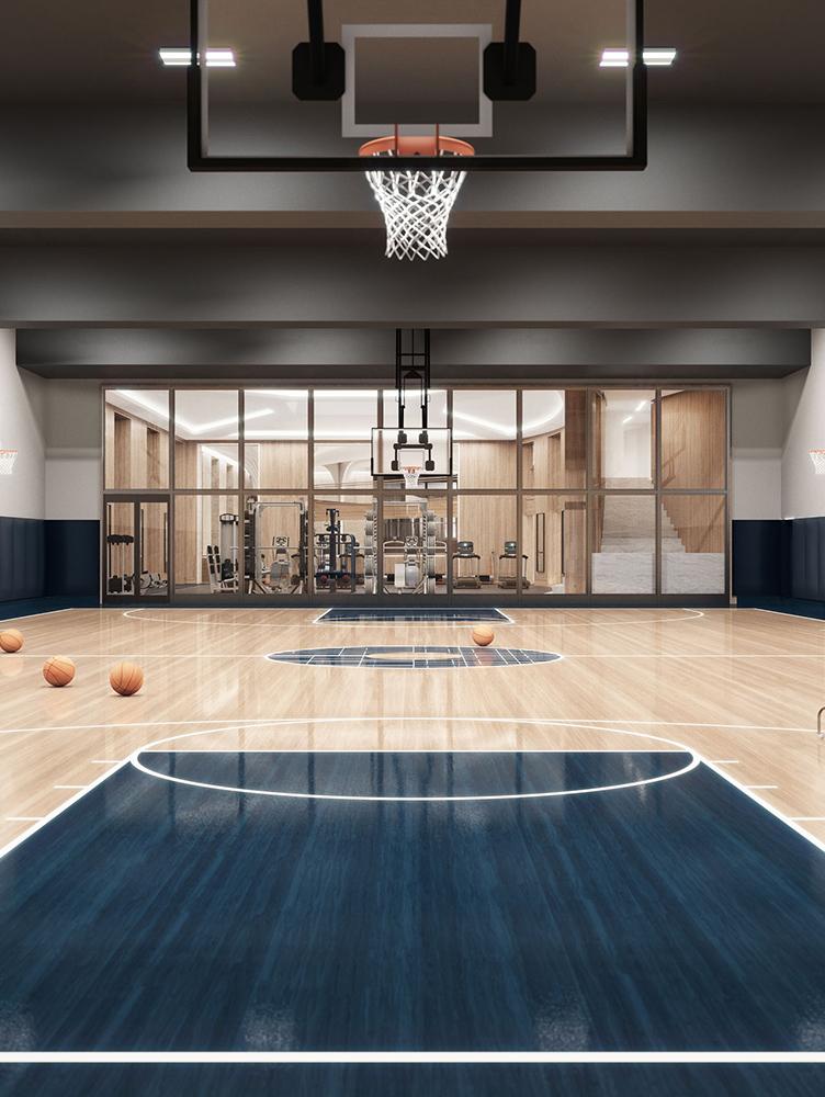 Condo Residences with Basketball Gym