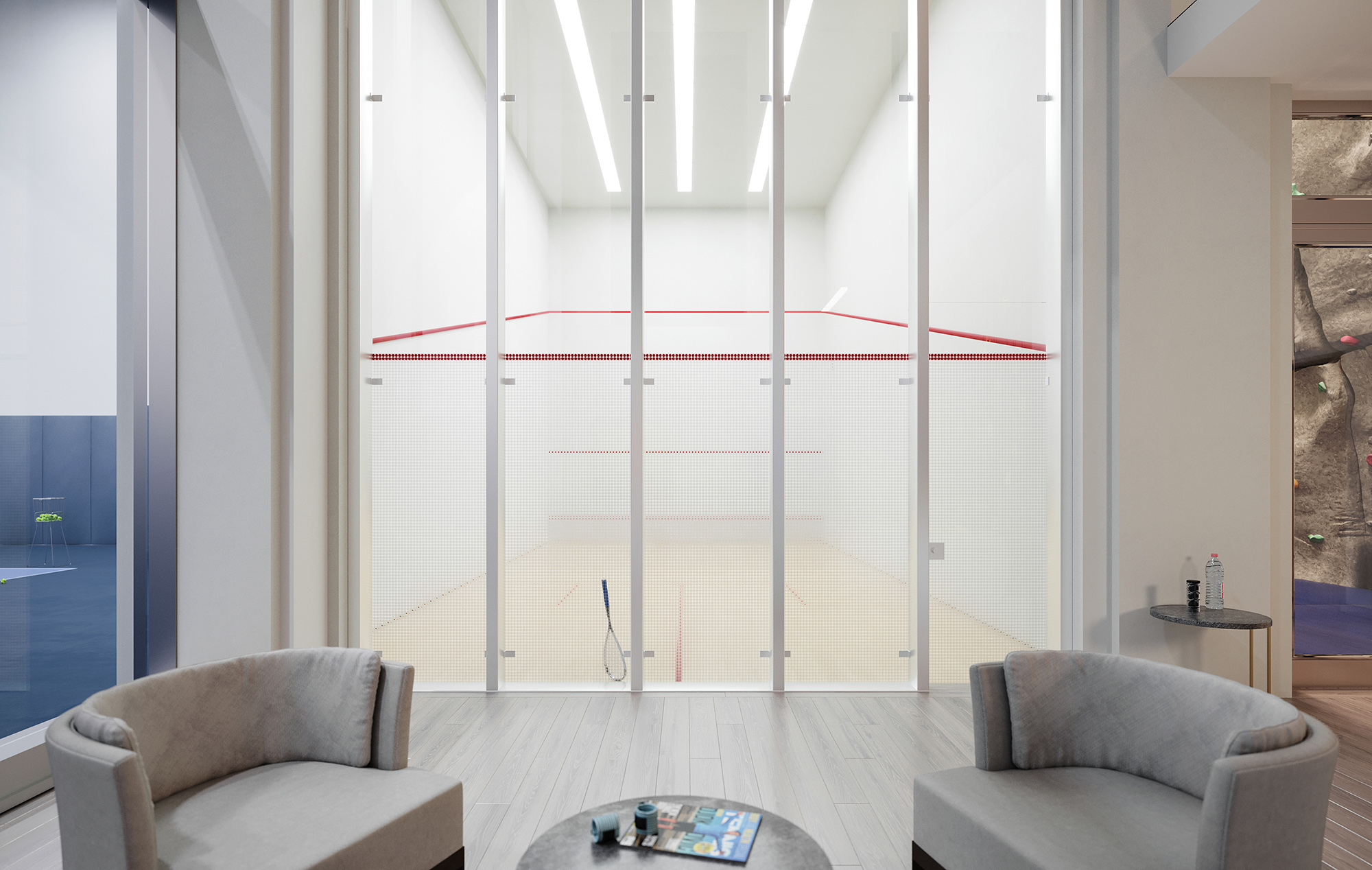 Condo Residences with Squash Court
