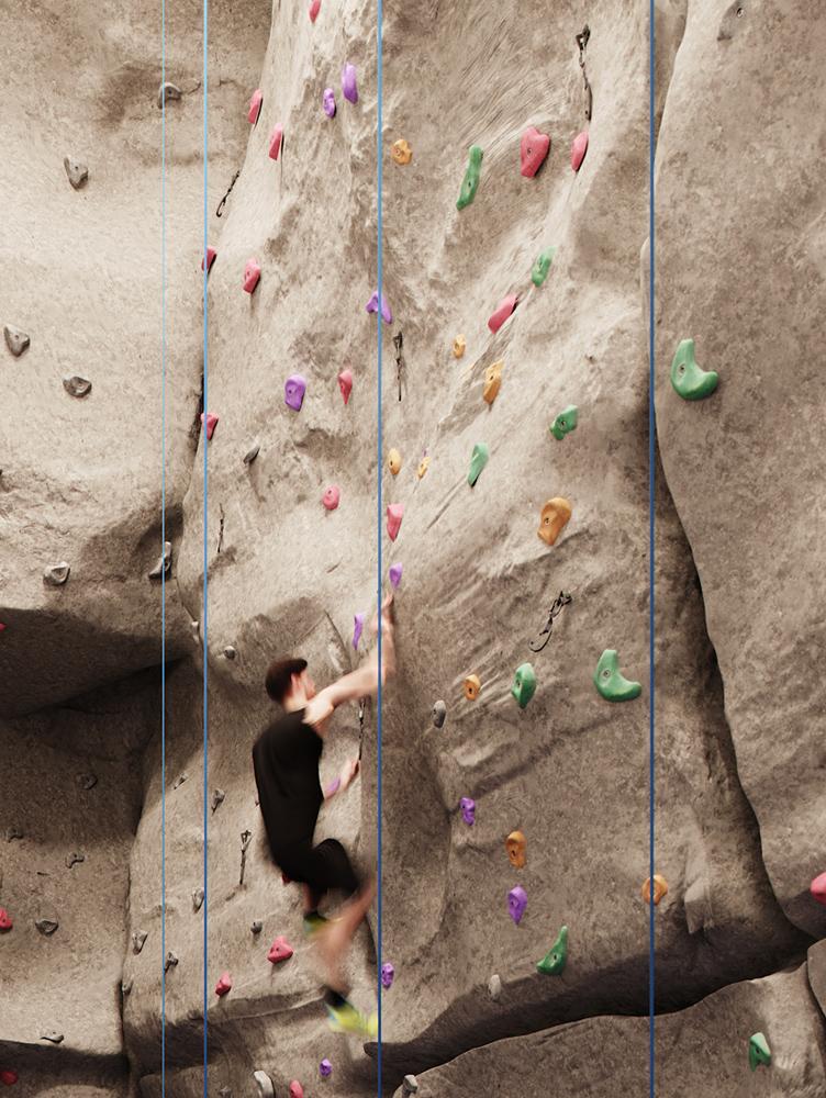 Condos with Indoor Rockclimbing Wall