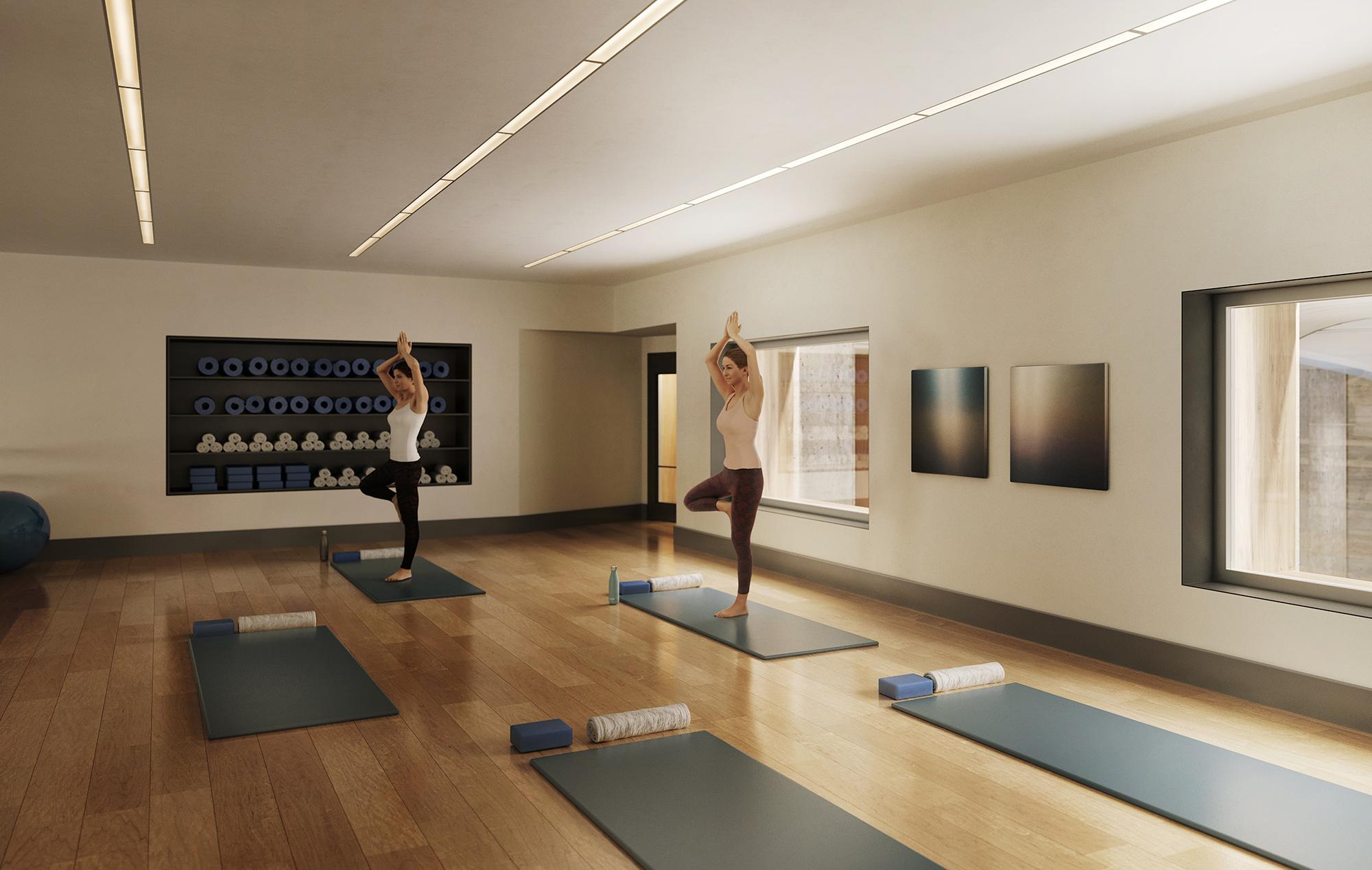 Condo Residences with Yoga & Barre Studio