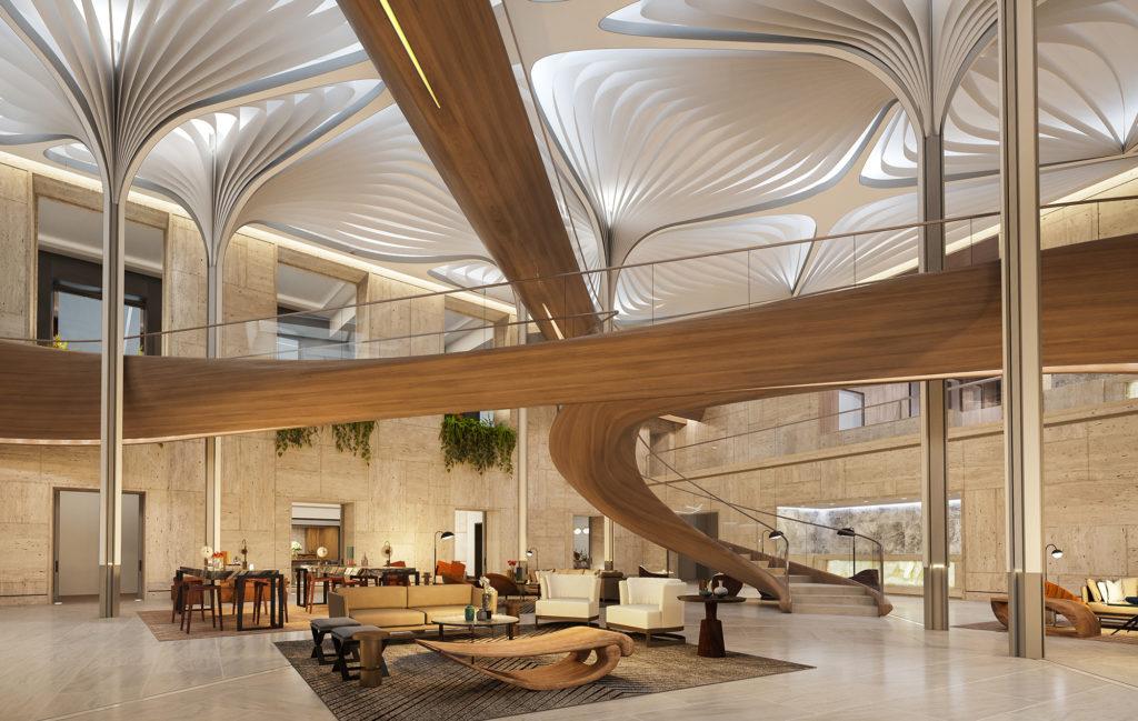 Luxury Condos with Social Hub