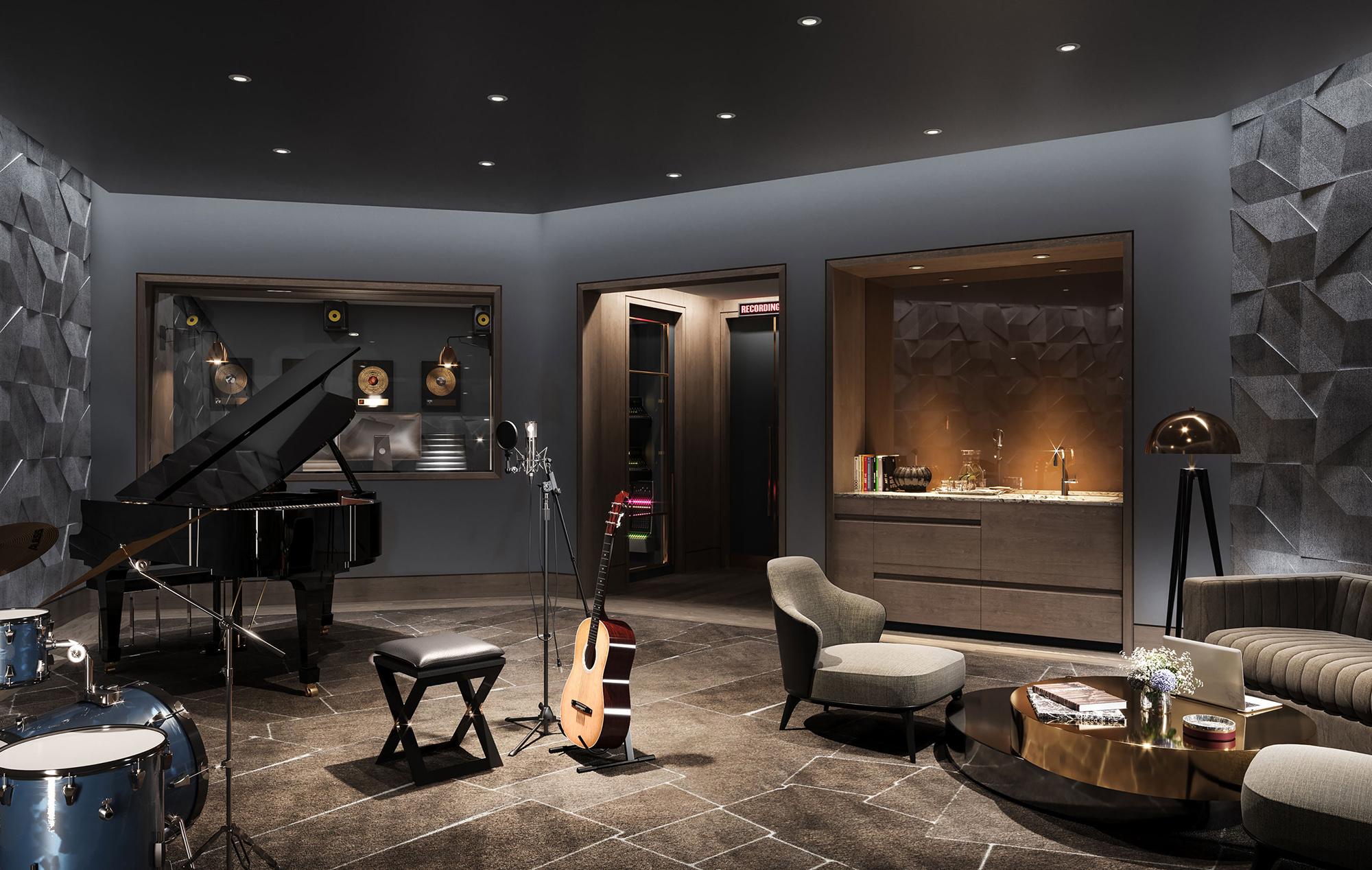 Residences with Music Studio