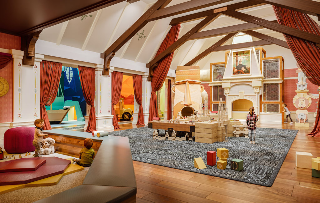 Residences with Children's Playroom