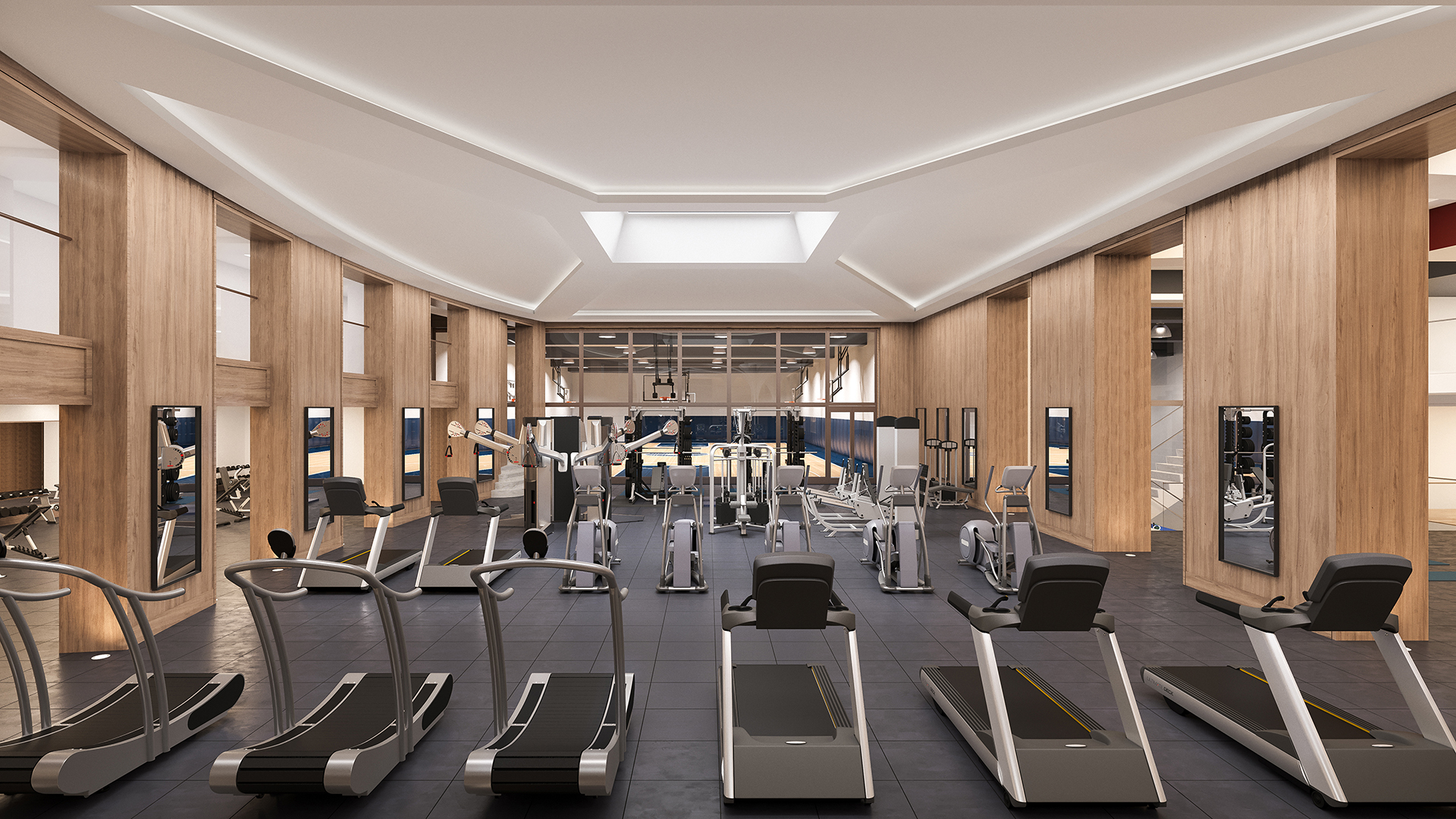 manhattan apartments with fitness centers