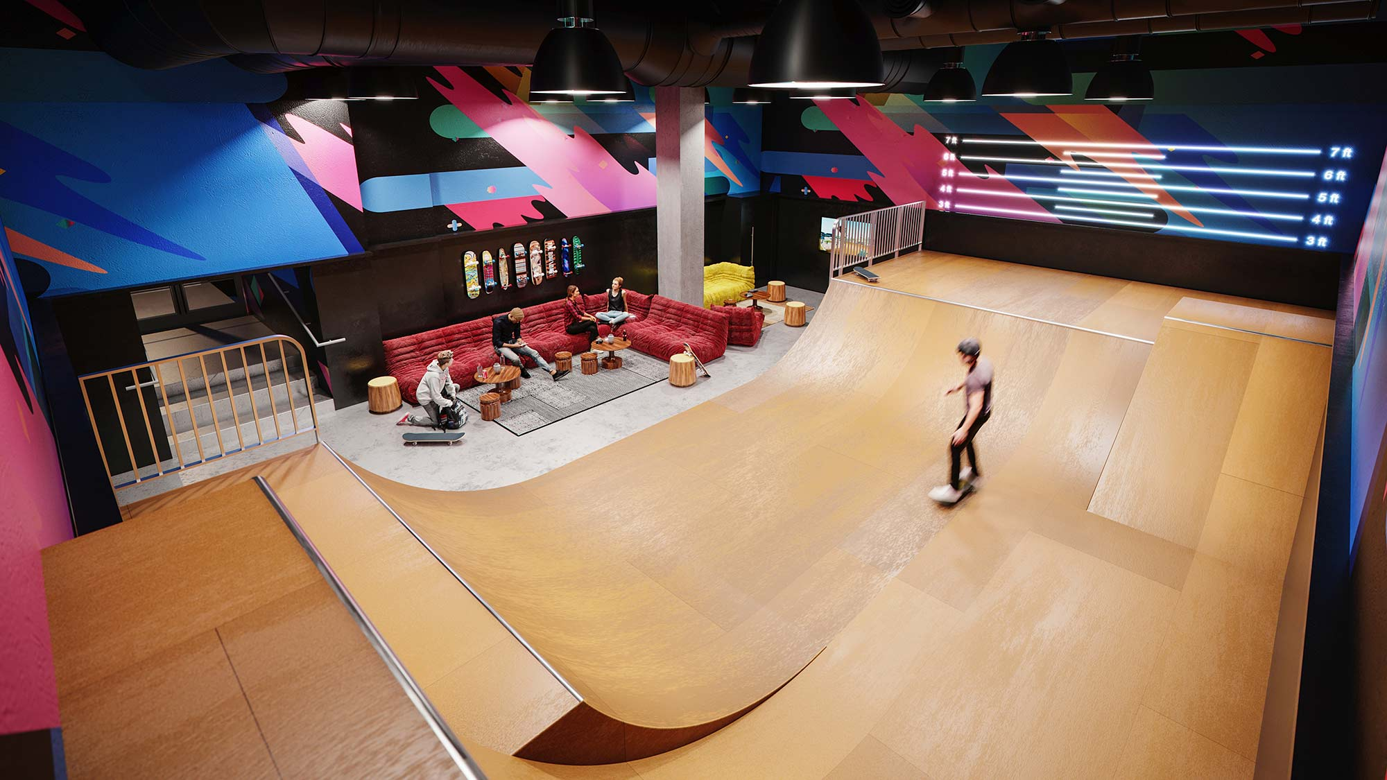 indoor skate park in manhattan