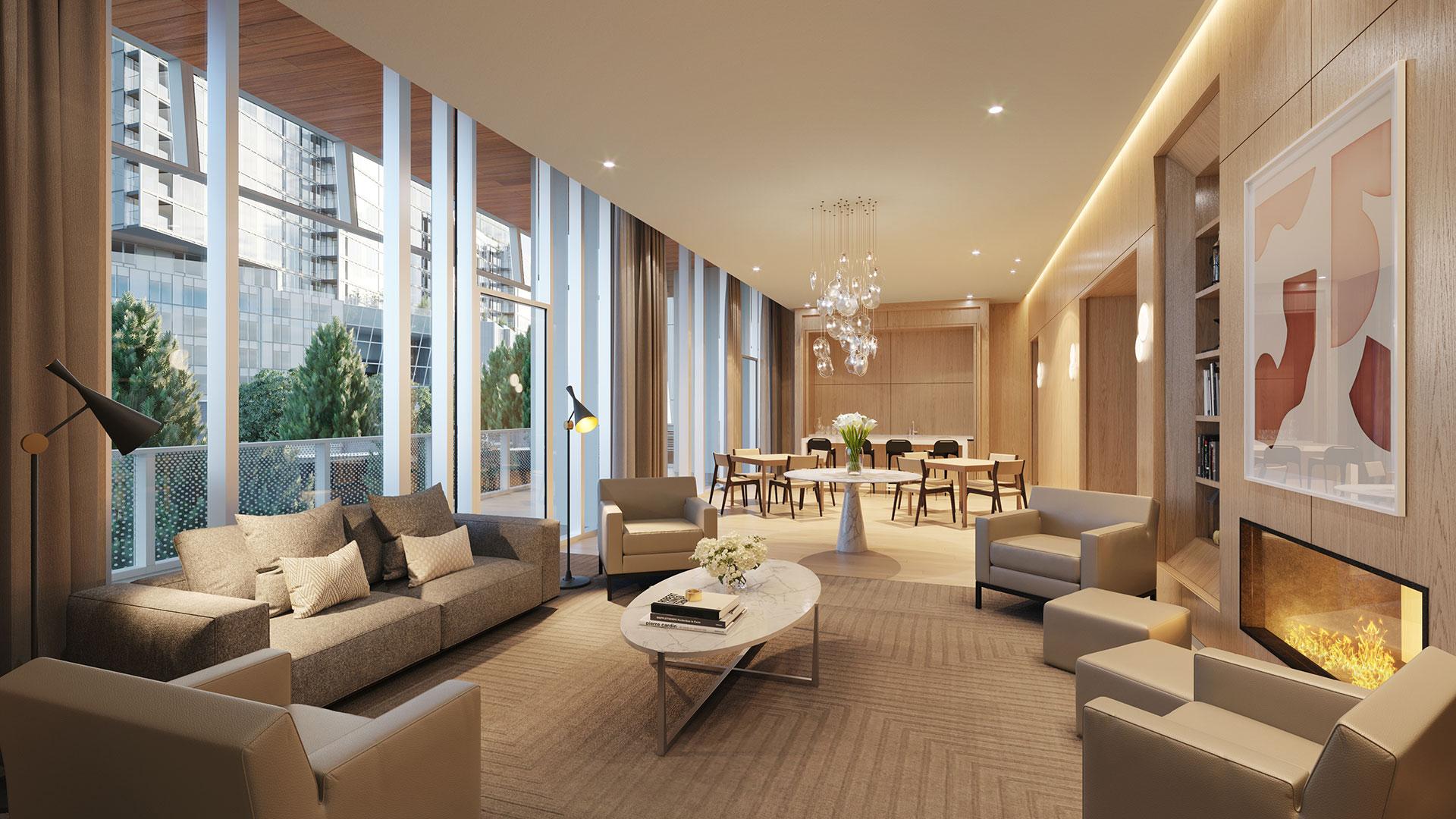 luxury apartment great room