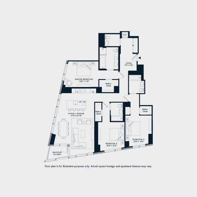 1208  Floor Plan