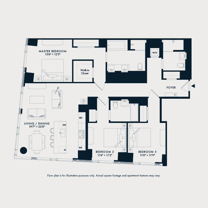 1503  Floor Plan