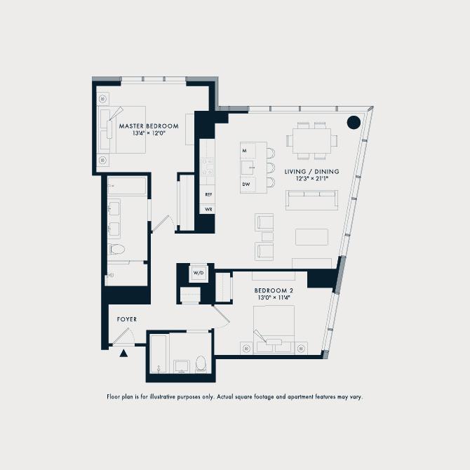 1030  Floor Plan