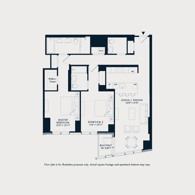 806  Floor Plan