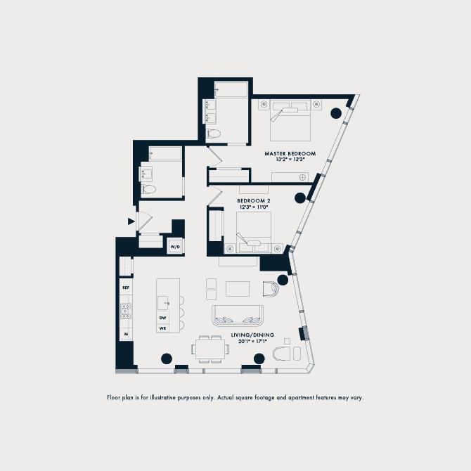 1601  Floor Plan