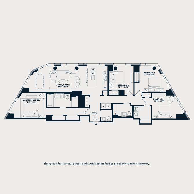 1708  Floor Plan