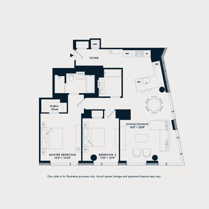 401  Floor Plan