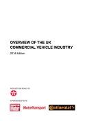 OVERVIEW OF THE UK COMMERCIAL VEHICLE INDUSTRY – 2014 Edition