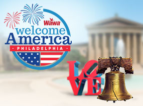 Check out the Welcome America events!