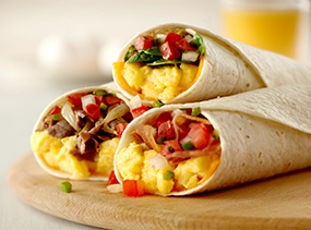 Breakfast Burrito varieties