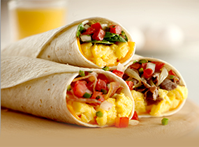 Breakfast Burrito varieties