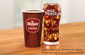$1 Any Size Coffee or Fountain Drink